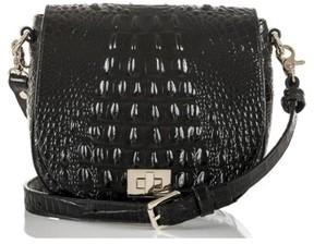 Brahmin Mini Sonny Leather Crossbody Bag - Black