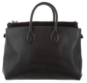 Calvin Klein Leather Calfskin Tote
