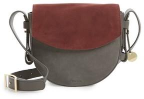 Skagen Lobelle Leather Saddle Bag - Grey