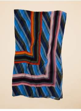 Diane von Furstenberg | Sussex Stripe Scarf | Sussex stripe hydrangea