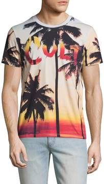 Cult of Individuality Men's Sunset Cotton Crew Tee