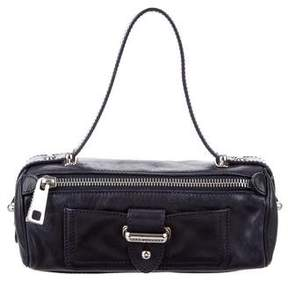 Marc Jacobs Leather Handle Bag - BLUE - STYLE
