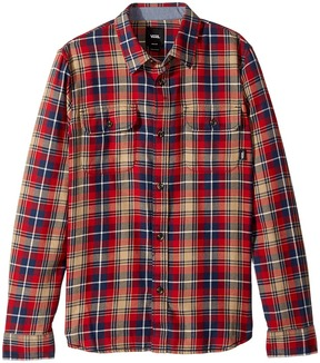 Vans Kids Sycamore Long Sleeve Flannel Boy's Clothing