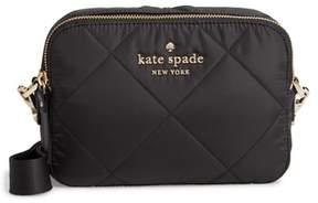 Kate Spade Watson Lane Quilted Amber Nylon Crossbody Bag