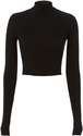 Cotton Citizen Melbourne Cropped Turtleneck