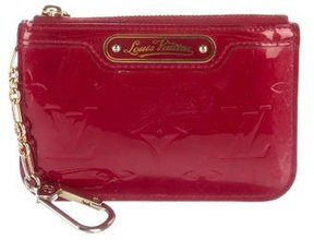 Louis Vuitton Vernis Key Pouch - RED - STYLE