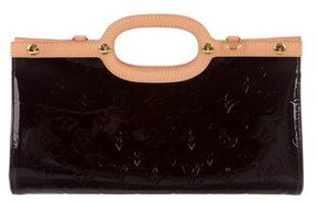 Louis Vuitton Vernis Roxbury Drive Bag - BURGUNDY - STYLE