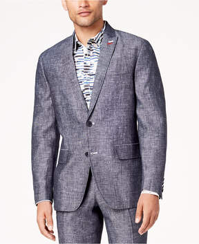 INC International Concepts I.n.c. Men's Slim-Fit Textured Linen Suit Jacket, Created for Macy's