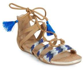 Kenneth Cole Reaction Lost Look2 Lace-Up Wedge Sandals