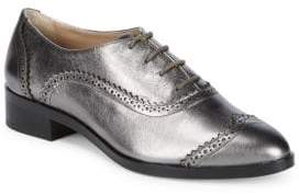 Saks Fifth Avenue Brody Leather Wingtip Oxfords