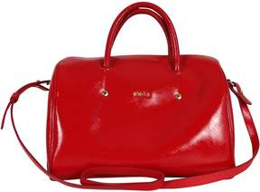Furla Red Patent Leather Satchel