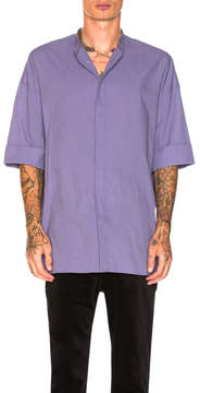 Haider Ackermann Short Sleeved Oversized Shirt