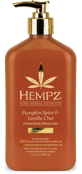 Hempz Pumpkin Spice & Van Chai Herbal Body Moisturizer