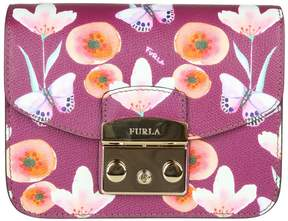 Furla Metropolis Mini In Leather With Fantasy Print