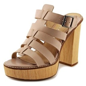Very Volatile Steadfast Open Toe Leather Sandals.