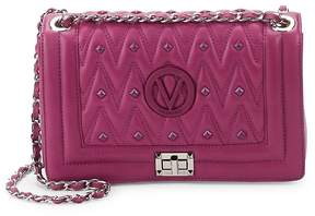 Mario Valentino Valentino by Women's Alice Studded Leather Shoulder Bag