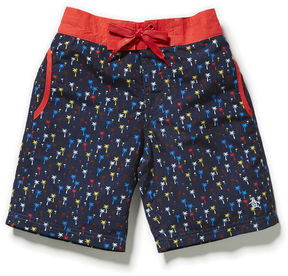 Original Penguin Boys Printed Palmtree Board Short
