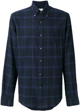 Aspesi checked button-down shirt
