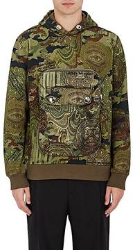 Givenchy GIVENCHY MEN'S CAMOUFLAGE- & MONEY-PRINT HOODIE