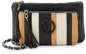 Mario Valentino Valentino by Women's Leather Crossbody Bag