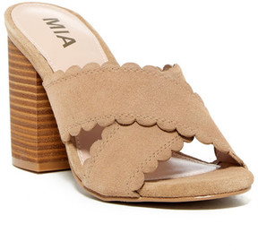 Mia Crisscross Mule Sandal