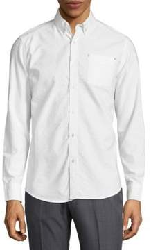 Report Collection Long-Sleeve Button-Down Shirt