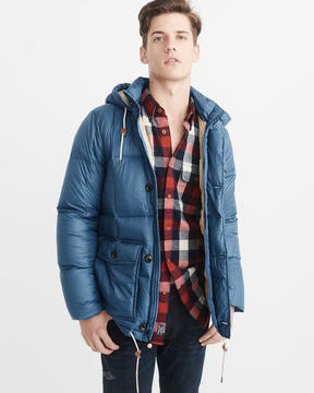 Abercrombie & Fitch Down-Filled Puffer Coat