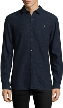 Farah Men's Ellsworth Cotton Sportshirt