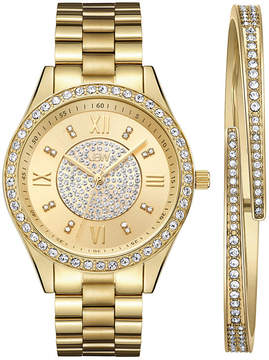 JBW Diamond Womens Silver Tone 2-pc. Watch Boxed Set-J6303-Setb