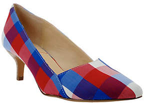Sole Society As Is Sole Society_Printed Kitten heel Pumps - Desi