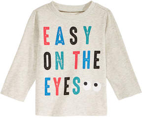 First Impressions Eyes-Print T-Shirt, Baby Boys (0-24 months), Created for Macy's