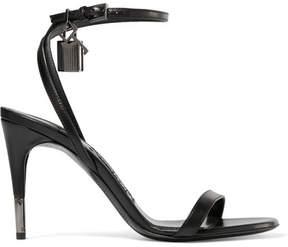 Tom Ford Leather Sandals - Black