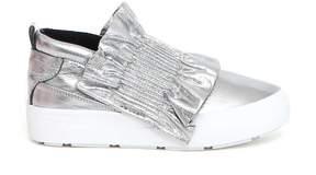 MSGM Ruffle Detail Sneakers