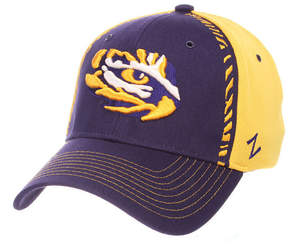 Zephyr Lsu Tigers Pattern Pipe Stretch Cap
