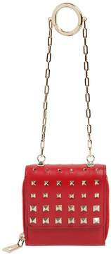 Valentino Micro Studded Leather Clutch