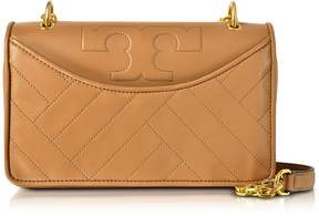 Tory Burch Alexa Aged Vachetta Leather Shoulder Bag - ONE COLOR - STYLE