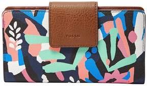 Fossil Emma RFID Floral Tab Wallet