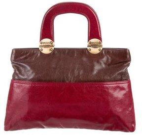 Emilio Pucci Bicolor Leather Bag