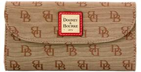 Dooney & Bourke Madison Signature Continental Clutch Wallet - RED - STYLE