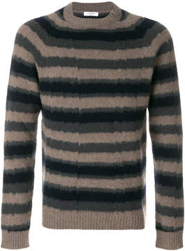 Boglioli striped knit pullover