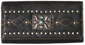 American West - Black Canyon Flap Wallet Bi-fold Wallet