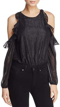 Astr Analesse Cold-Shoulder Bodysuit