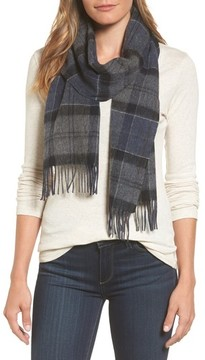 Barbour Women's Tartan Plaid Wool & Cashmere Scarf