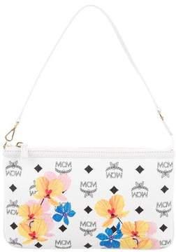 MCM Floral Visetos Zip Pouch w/ Tags