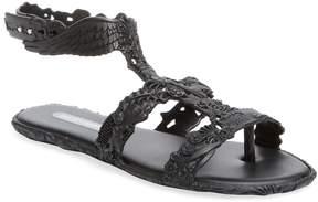 Melissa Women's Campana Barroca T-Strap Sandal