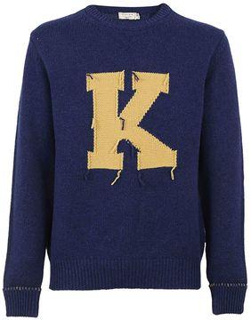 Kitsune Maison Letter Sweater