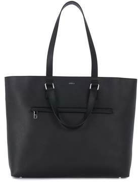 Furla Marte Black Leather Business Bag