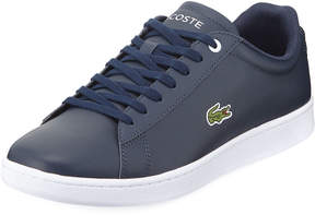 Lacoste Men's Hydez Leather Low-Top Sneakers, Blue