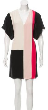 Bouchra Jarrar Silk Mini Dress