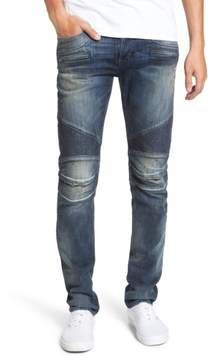 Hudson Men's Blinder Biker Moto Skinny Fit Jeans